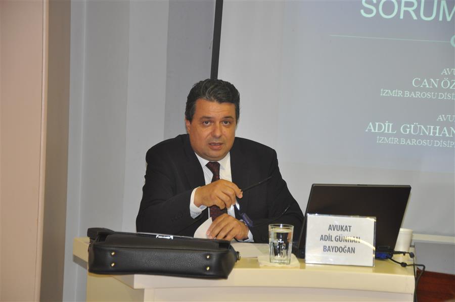 Avukatın Disiplin Sorumluluğu Konferansı Yapıldı