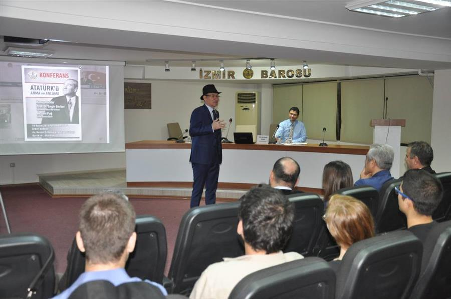 İzmir Barosu'ndan 10 Kasım'da Anlamlı Etkinlik
