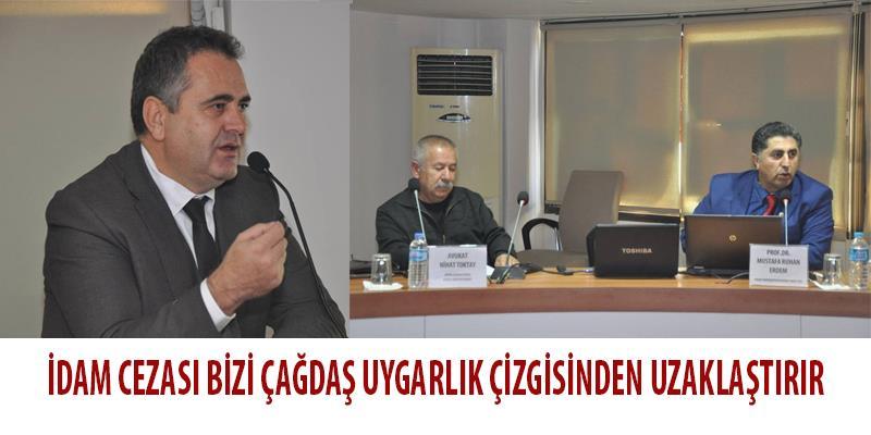Türkiye'nin İnsan Hakları Rejimi ve Ölüm Cezası Paneli Yapıldı