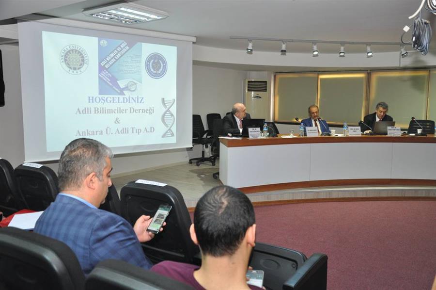 Adli Bilimler ve Adli Belgede Sahtecilik Konferansı Yapıldı