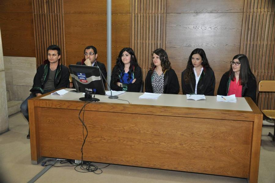 Staj Eğitim Merkezi Farazi Duruşma Çalışması Yapıldı