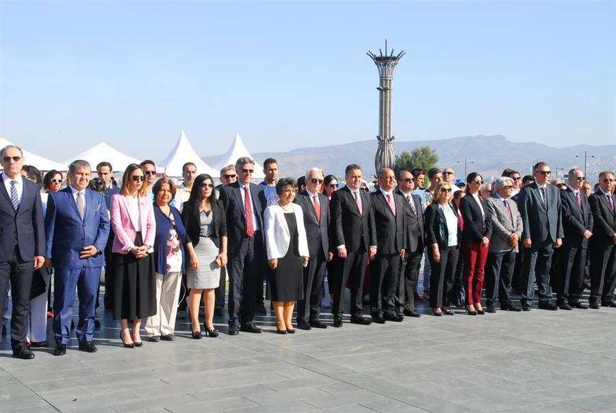 Baro Başkanımız Av. Aydın Özcan 19 Mayıs Atatürk