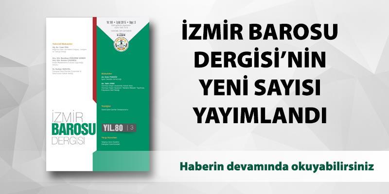 İzmir Barosu Dergisi