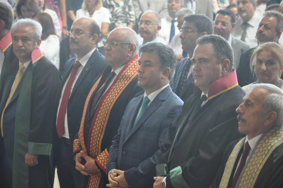 Yeni Adli Yıl Törenle Açıldı