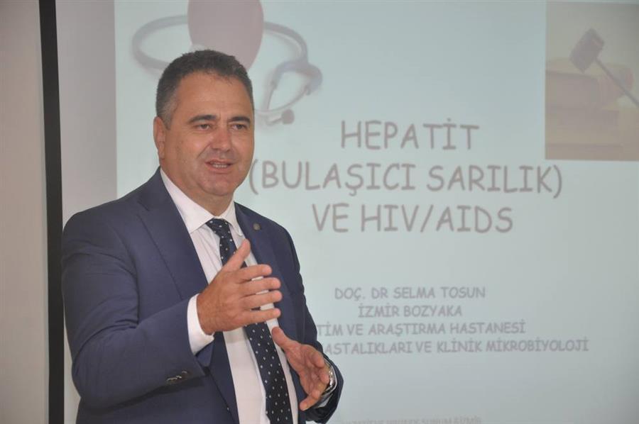 Bulaşıcı Hastalıklar ve AIDS Konulu Bilgilendirme Semineri Yapıldı