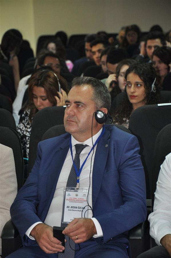 14. Türk Alman Tıp Hukuku Sempozyumu İzmir Barosu'nun Ev Sahipliğinde Gerçekleşti.