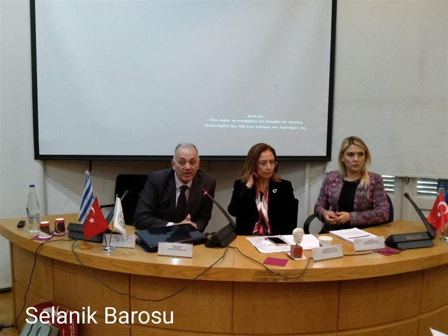 Barolar, Kadına Yönelik Şiddet ve Çocuk İstismarına Karşı Selanik'te Buluştu