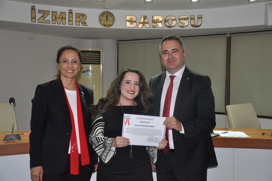 İzmir Barosu 80. Dönem CMK Eğitim Semineri Tamamlandı