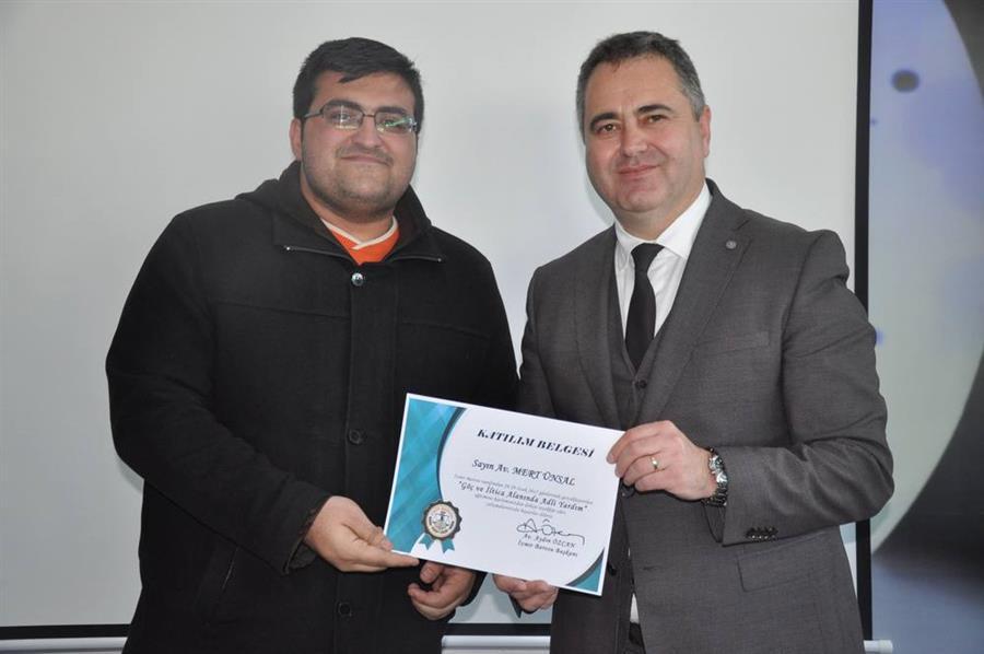 Göç ve İltica Alanında Adli Yardım Eğitim Programı Tamamlandı