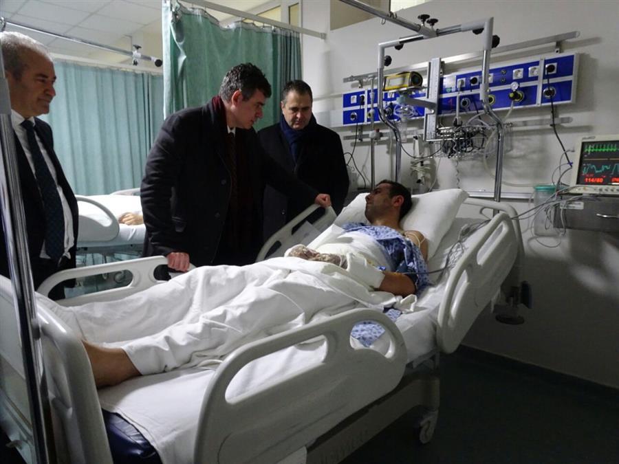 Saldırıda Yaralanan Meslektaşlarımızın Sağlık Durumları İyiye Gidiyor