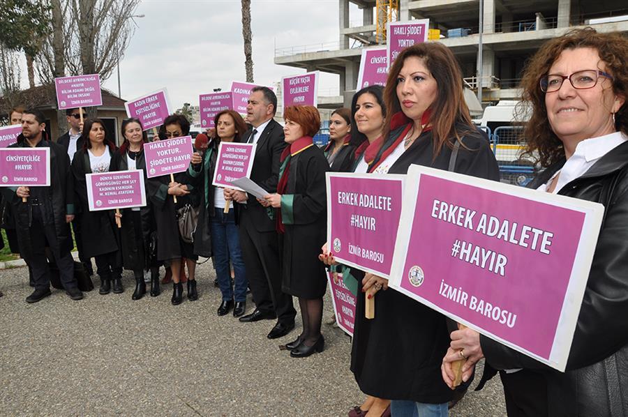 8 Mart Dünya Kadınlar Günü Basın Açıklaması