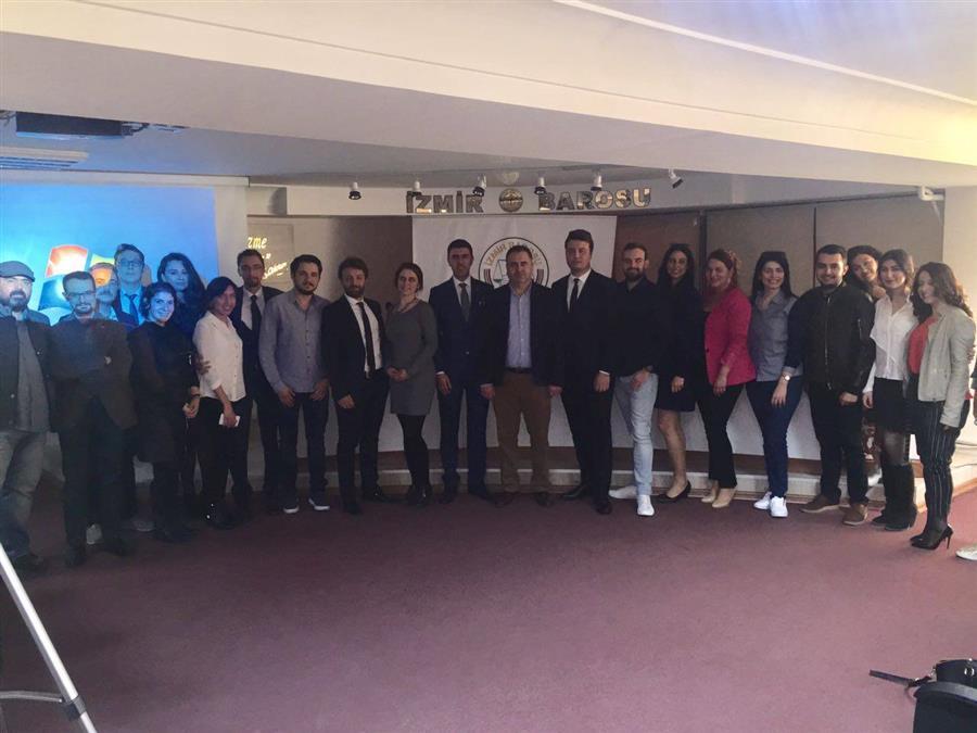İzmir Barosu Genç Avukatlar Meclisi Seçimli 3. Olağan Genel Kurulu Yapıldı