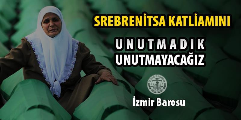 Srebrenitsa Katliamını Unutmadık, Unutmayacağız