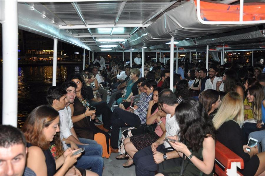 Stajyer Avukatlar Eğitim Döneminin Yorgunluğunu Tekne Turunda Attı