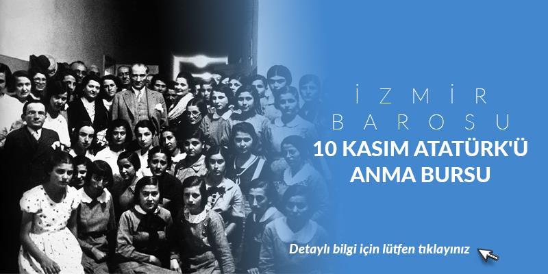 İzmir Barosu 10 Kasım Atatürk