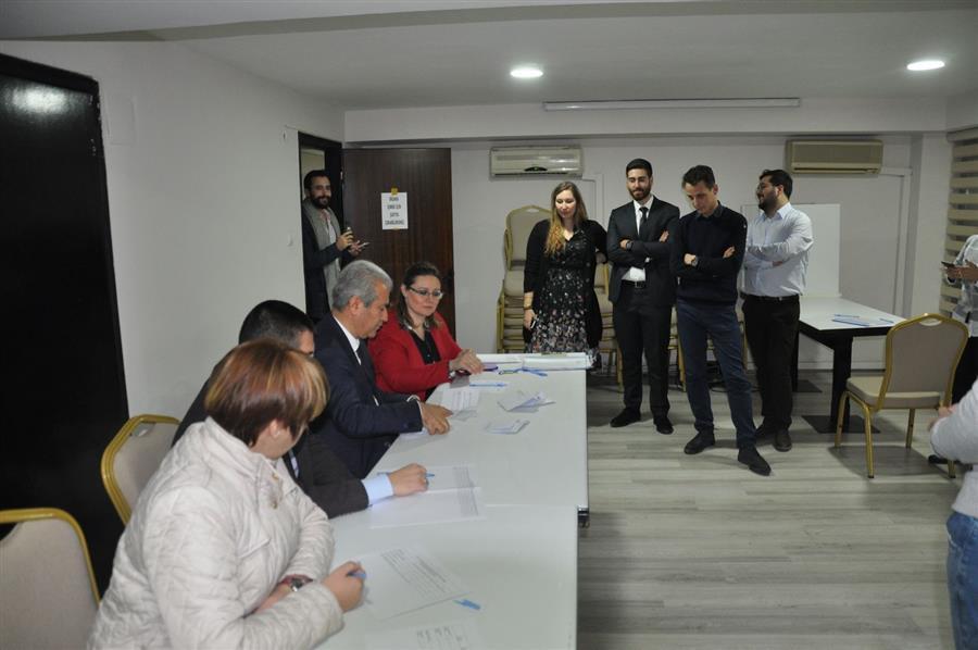Stajyer Avukat Temsilciliği Seçimi Yapıldı