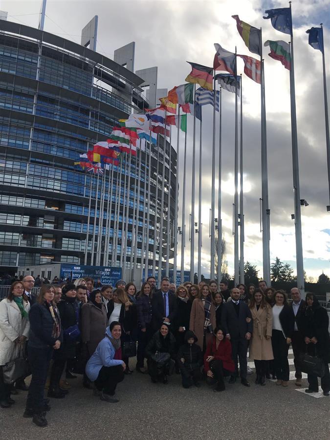 İzmir Barosu Avrupa Parlamentosu'nu Ziyaret Etti