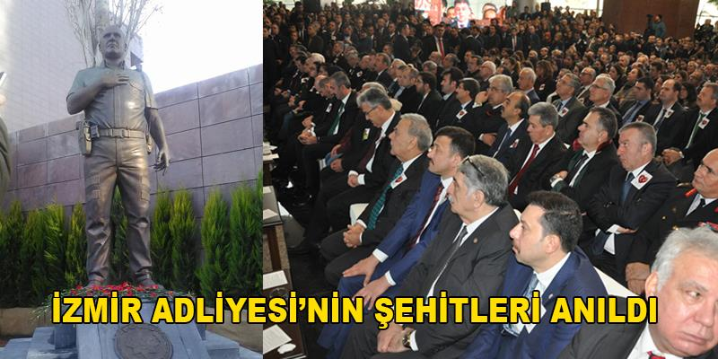 İzmir Adliyesi'nin Şehitleri Anıldı