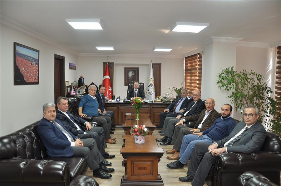 CHP İzmir İl Başkanlığı'ndan İzmir Barosu'na Ziyaret