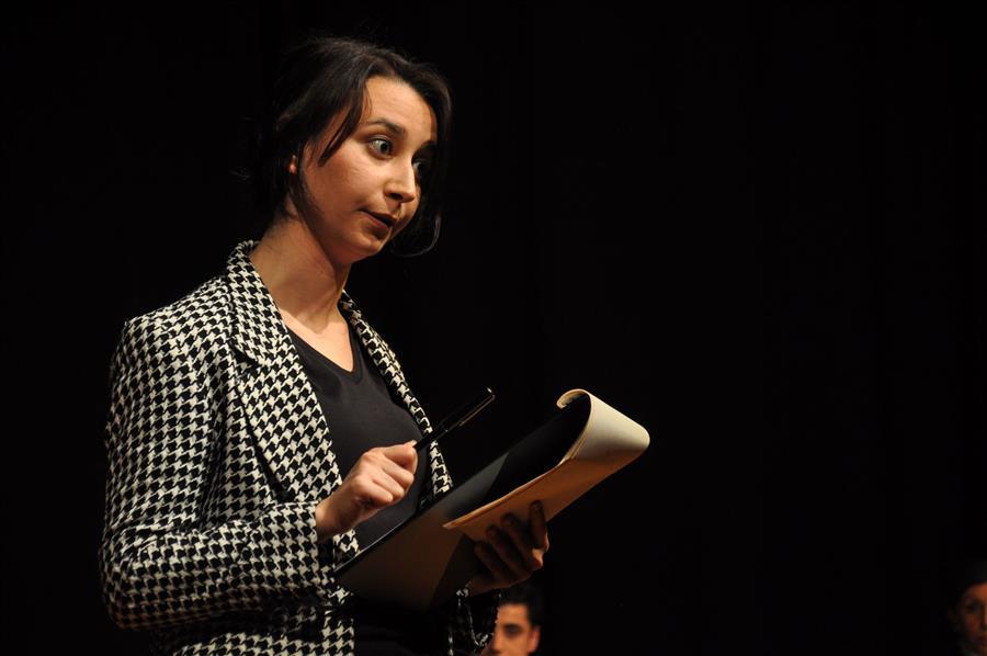 İzmir Barosu Tiyatro Topluluğu Rosenbergler'i Sergiledi