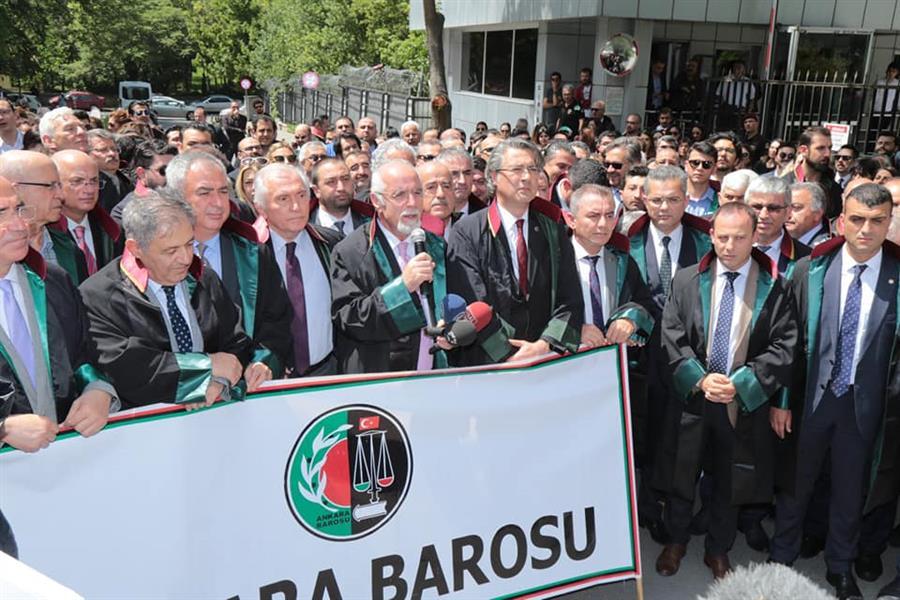 Ankara Barosu Başkanı Av. Hakan Canduran