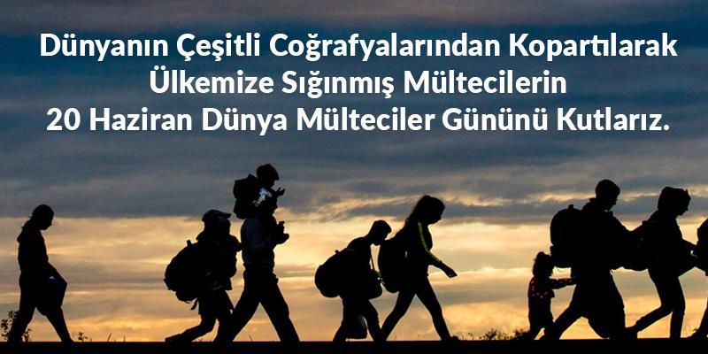 Dünya Mülteciler Günü Basın Açıklaması
