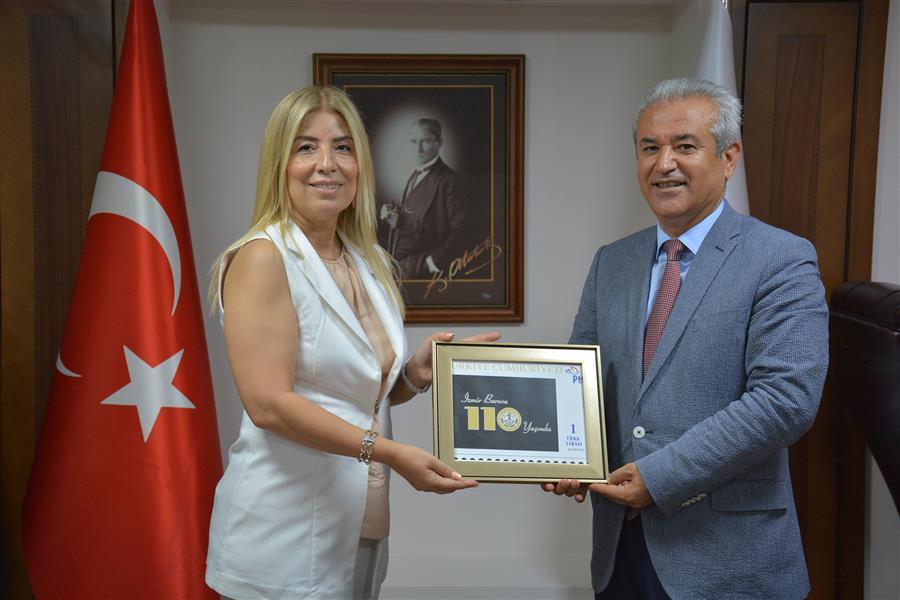 İzmir Barosu'nun 110. Yılına Özel Pul