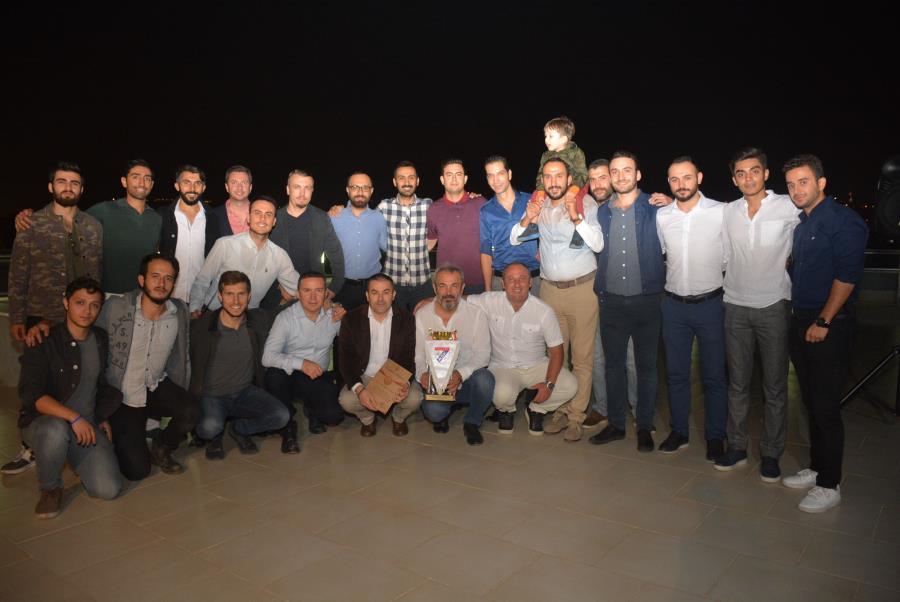 Kupa İzmir Barosu'nda