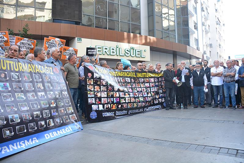 Ankara Garı Katliamında Yaşamını Yitirenler Anıldı
