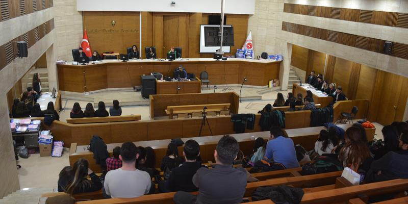 Özel Hukuk Alanında 19. Kurgusal Duruşma Çalışması Gerçekleştirildi