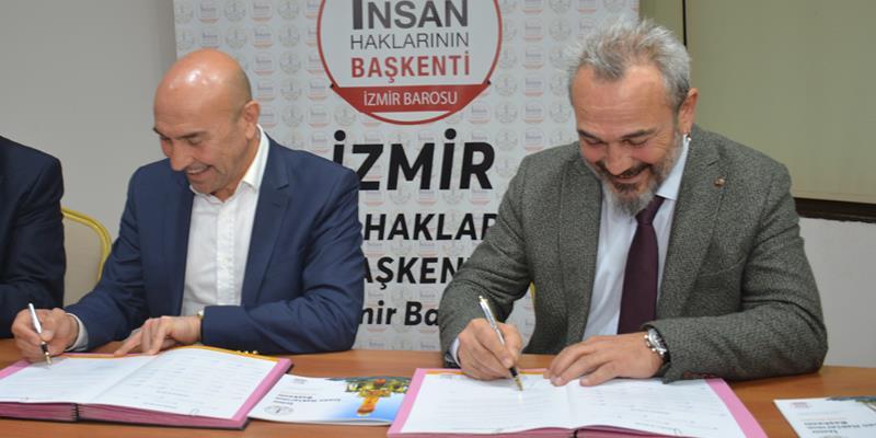 İzmir İnsan Haklarının Başkenti Vizyonuna Destek Büyüyor