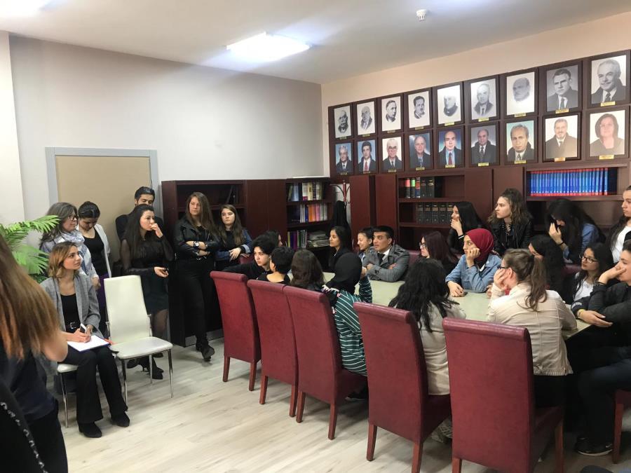 İzmir Barosu Lise Öğrencileri İle Buluştu