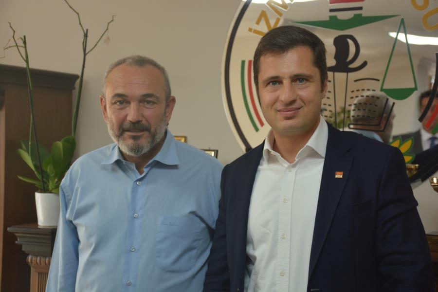 CHP İzmir İl Başkanı Av. Deniz Yücel ve Beraberindeki Heyet İzmir Barosu