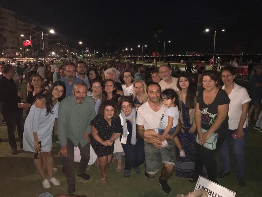 Demokrasi Nöbeti Gezi'nin Yıldönümünde Gündoğdu'da Tutuldu