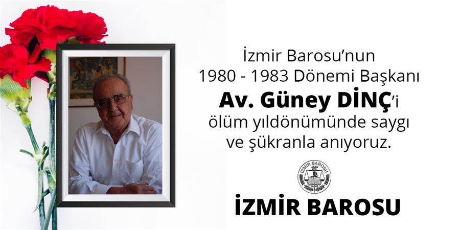 Baromuzun 1980-1983 Dönemi Başkanı Av. Güney Dinç