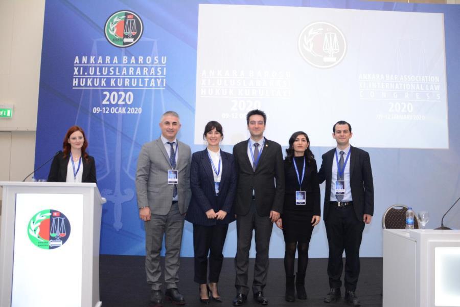 Ankara Barosu Uluslararası Hukuk Kurultayı'nda İnsan Hakları Merkezlerinin Niteliği, Sorunları ve İzmir Pratiği Sunumu Yapıldı