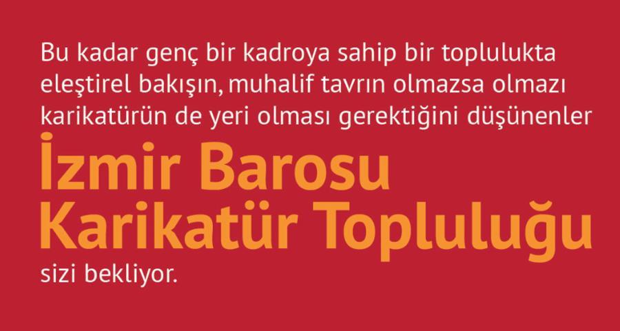İzmir Barosu Karikatür Topluluğu Çalışmalarına Başlıyor