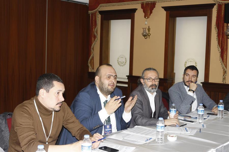 Mersin Barosu Ev Sahipliğinde Avukatlık Mesleğinin Sorunları ve Çözüm Yolları Çalıştayı Yapıldı