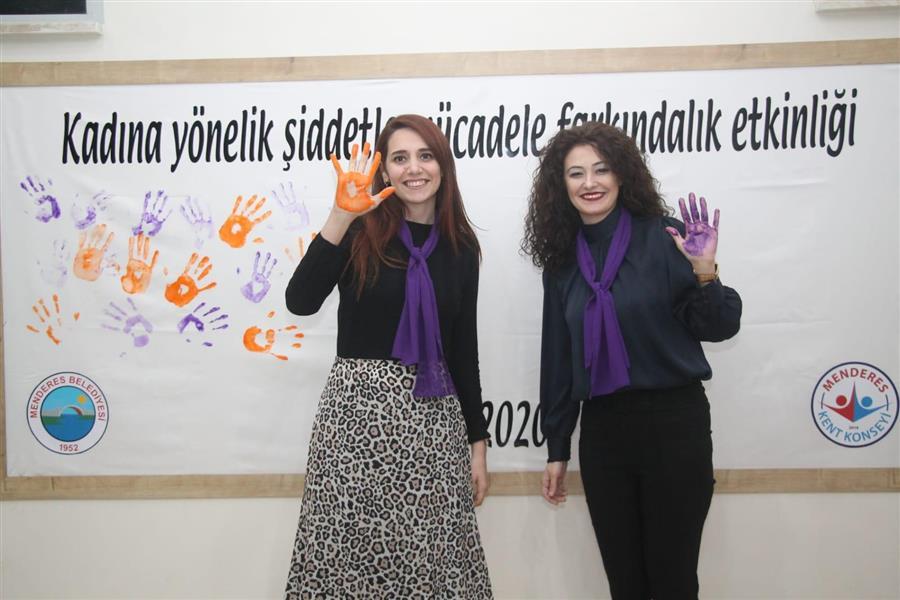 Menderes'te Şiddet Mağduru Kadınların Başvuru Mekanizmaları Paneli Yapıldı