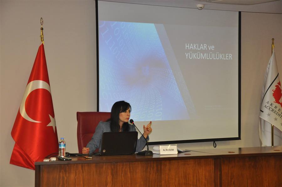 Torbalı'da Kişisel Verilerin Korunması Kanunu Eğitimi Yapıldı