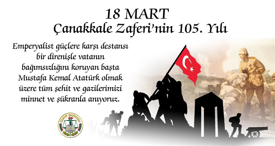 18 Mart Çanakkale Zaferi'nin 105. Yılı