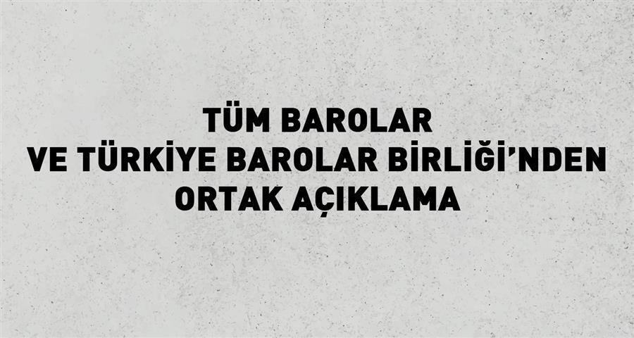 Tüm Barolar ve Türkiye Barolar Birliği