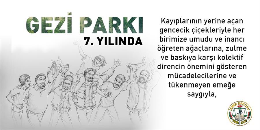 Gezi Parkı 7.Yılında