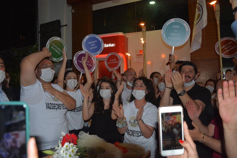İzmir Barosu Başkanı Av. Özkan Yücel: Mücadele Devam Edecek