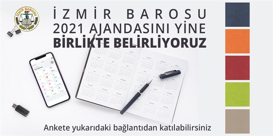 İzmir Barosu 2021 Ajandasını Meslektaşlarımızın Katılımıyla Belirliyoruz