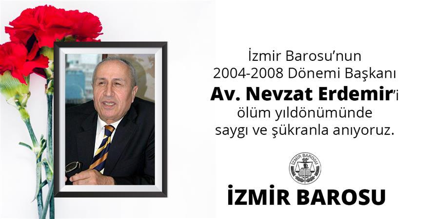 Baromuzun 2004-2008 Dönemi Başkanı Av. Nevzat Erdemir