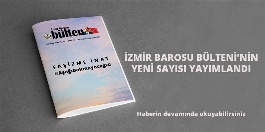 İzmir Barosu Bülteni