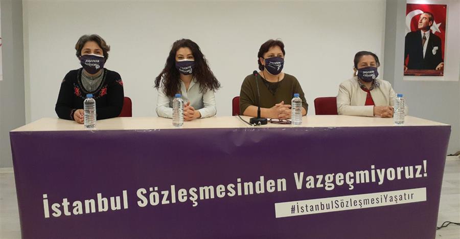 Kurumlardan Ortak Açıklama: Yaşamdan, İstanbul Sözleşmesi