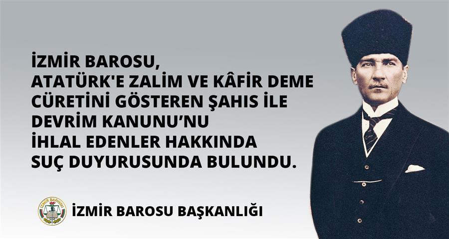 İzmir Barosu, Atatürk